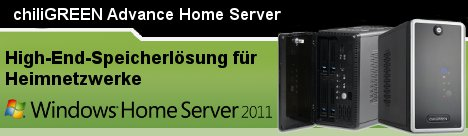 chiliGREEN Advance Home Server